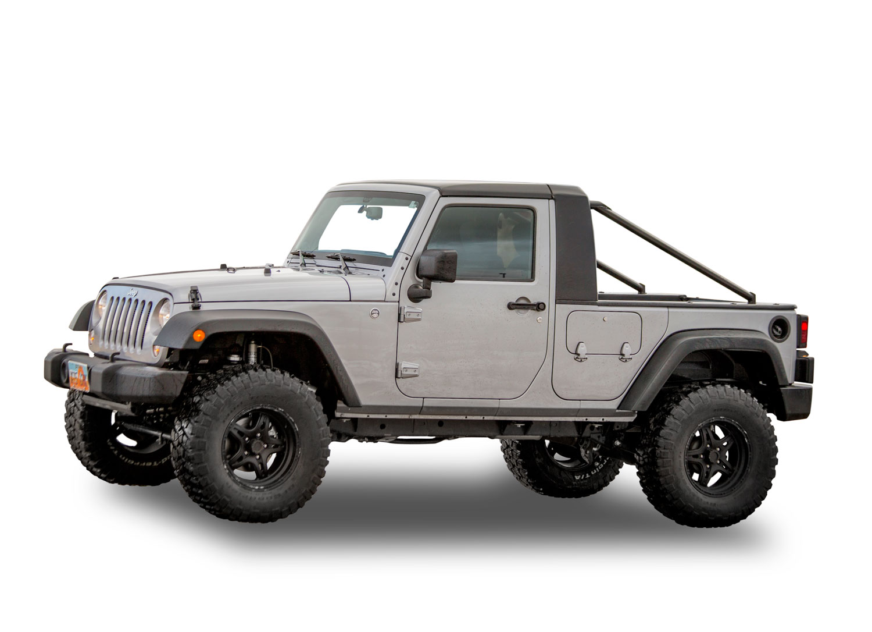Kit pick-up ActionTruck pour Jeep wrangler JK Unlimited - Bumper Off ...