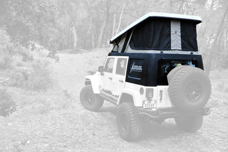 tente de toit jeep jk jkamper bumper off road. Black Bedroom Furniture Sets. Home Design Ideas