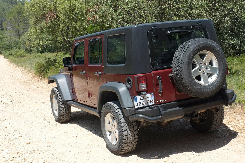 occasion jeep jk unlimited 2 8l crd rubicon bumper off road. Black Bedroom Furniture Sets. Home Design Ideas