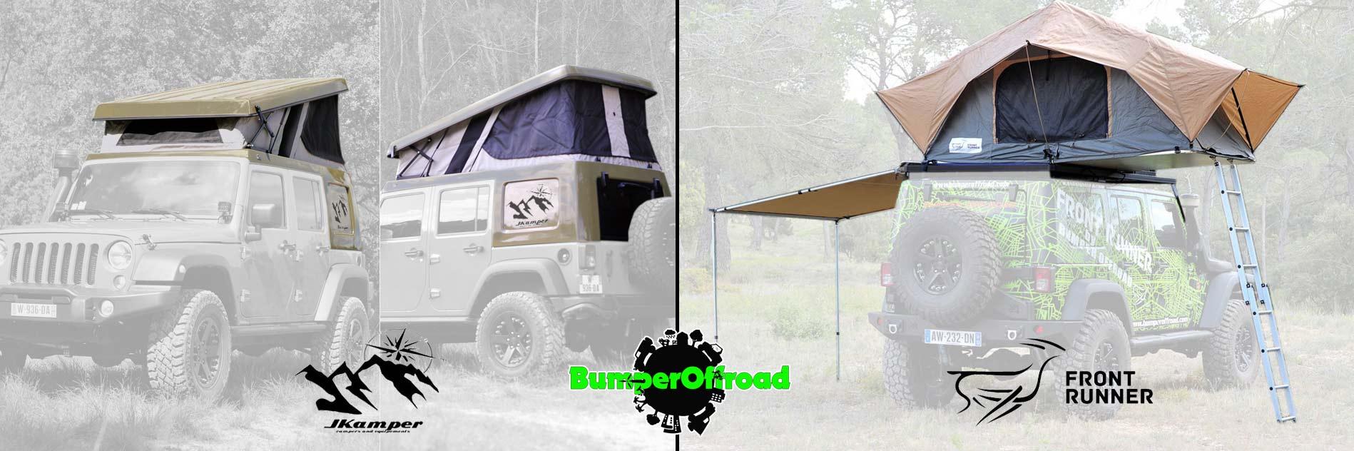 Location tente de toit bumper offroad bumper off road - Location echelle de toit ...