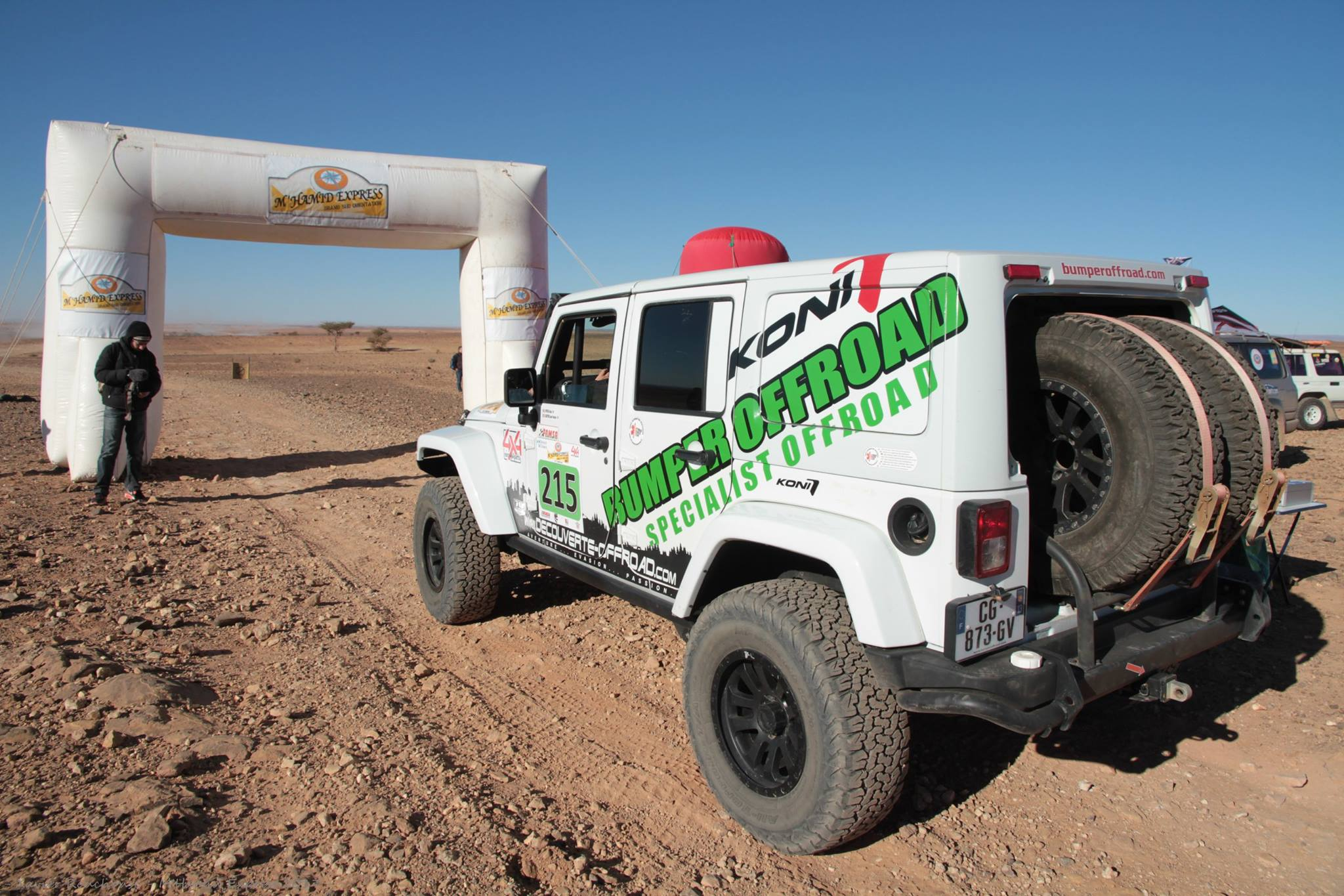 M'Hamid Express - Alain Witsch - Bumperoffroad - rent a jeep rallye