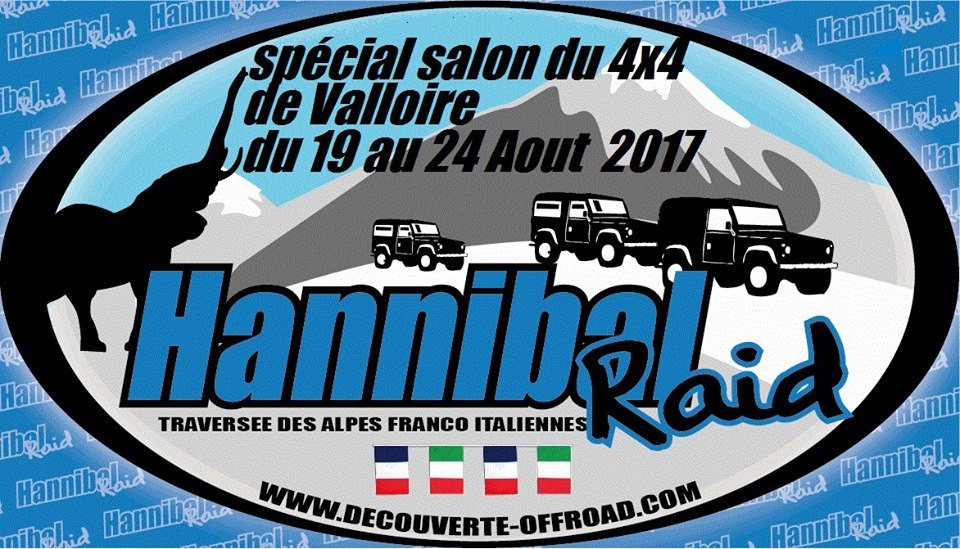 raid hannibal du 19 au 24 aout 2017 sp cial salon du 4x4 de valloire bumper off road. Black Bedroom Furniture Sets. Home Design Ideas