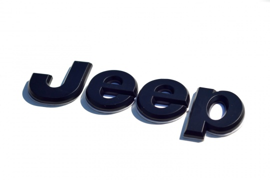 Logo Jeep noir autocollant
