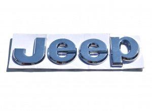 Logo Jeep chromé