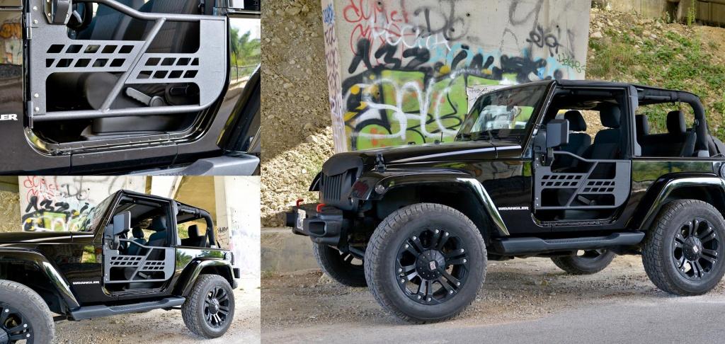 Demi-portes pour Jeep JK