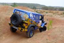 Cours de pilotage avec Jeannette James et Bumperoffroad pour le Rallye Cap Femina 2017