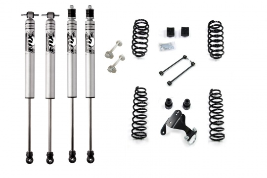 "Jeep JK kit rehausse 2.5"" Stage 2 Fox Sport by Bumperoffroad"