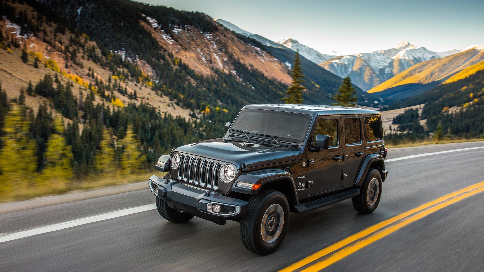 Nouvelle Jeep JL 2018, version 4 portes Wrangler Sahara Unlimited Bumperoffroad Venelles 13