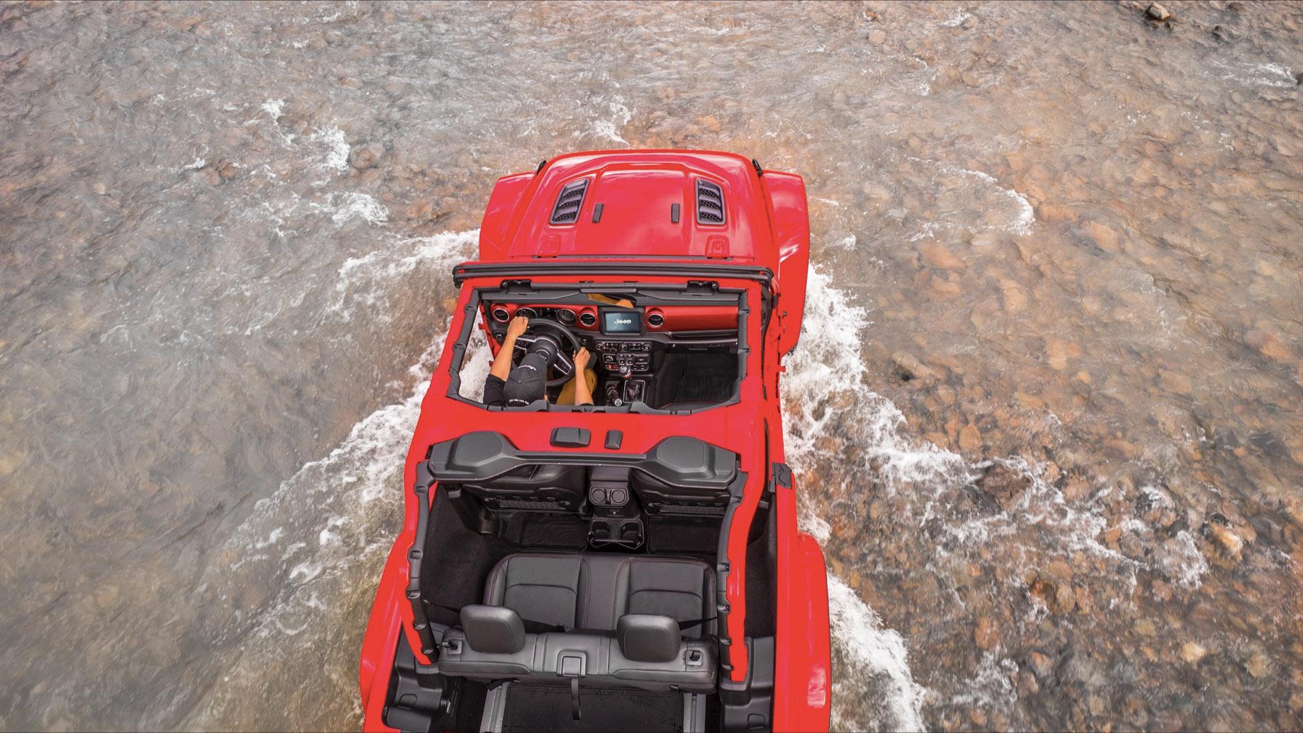 Nouvelle Jeep JL 2018, version 2 portes Wrangler Rubicon Bumperoffroad Venelles 13