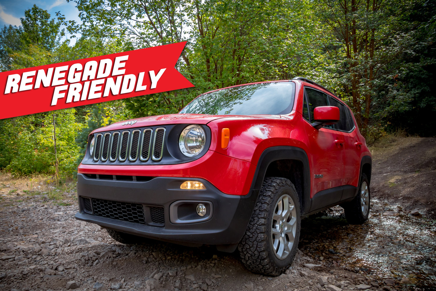 Jeep Renegade friendly