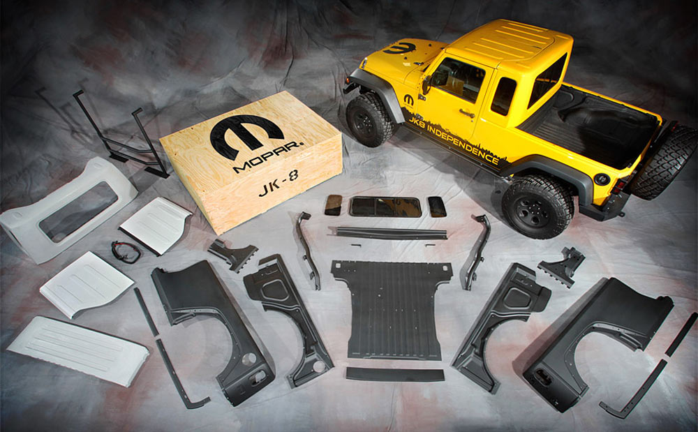Kit Jeep JK8, transformez votre Jeep JK en Pick-Up - Bumperoffroad