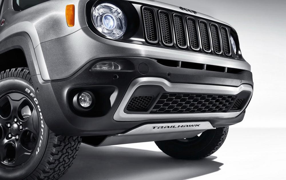 Ski de protection moteur 6mm aluminium pour Jeep Renegade Trail Hawk