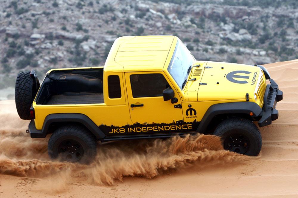 Kit Jeep JK8, transformez votre Jeep JK en Pick-Up - Bumperoffroad