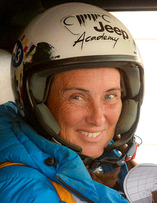 Jeanette James Stage Pilotage tout terrain