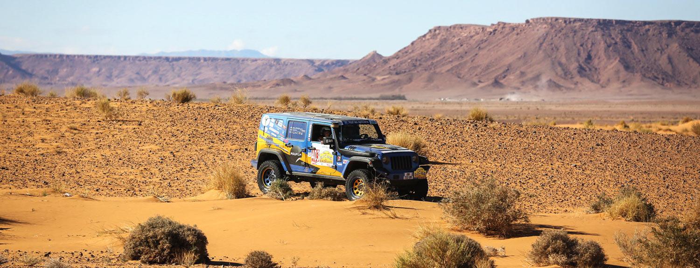 Bumperoffroad - spécialiste Préparation Jeep en France - Rallye des Gazelles