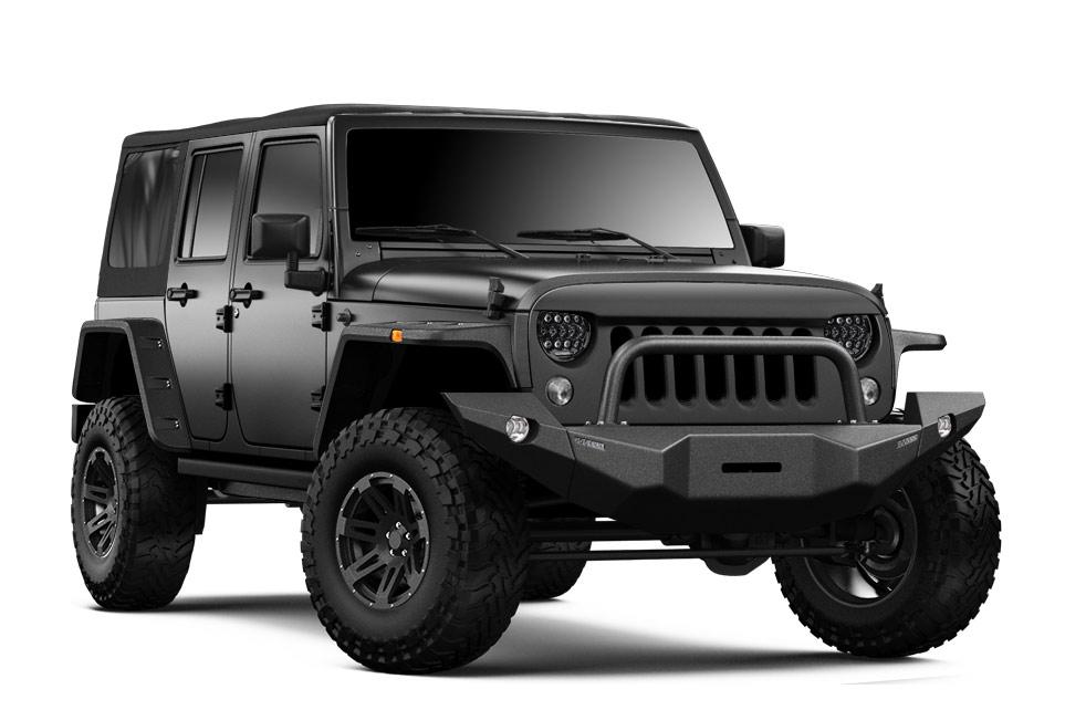 Bumperoffroad vous permet de configurer et de visualiser votre Jeep JK idéale.