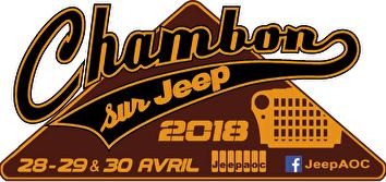 logo Chambon sur jeep