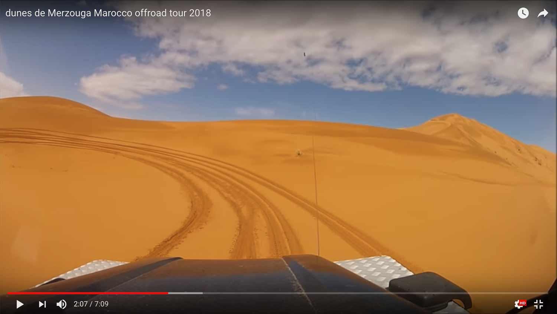 Dune de Merzouga au Maroc avec Decouverte Offroad