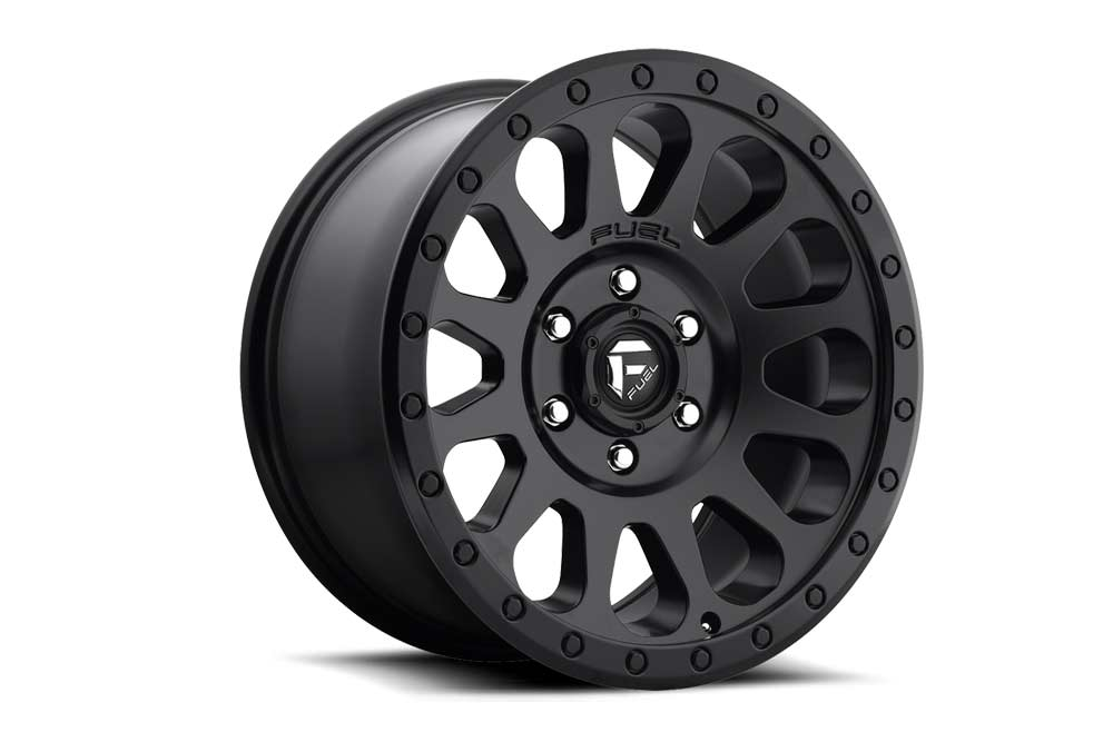 Jante Jeep JK Fuel Vector D579 Matte Black