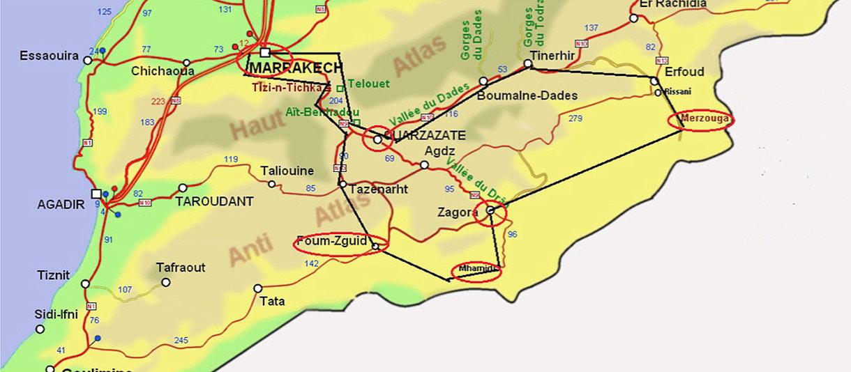 Sahara Tour Maroc 2018 Bumperoffroad – Découverte Off Road