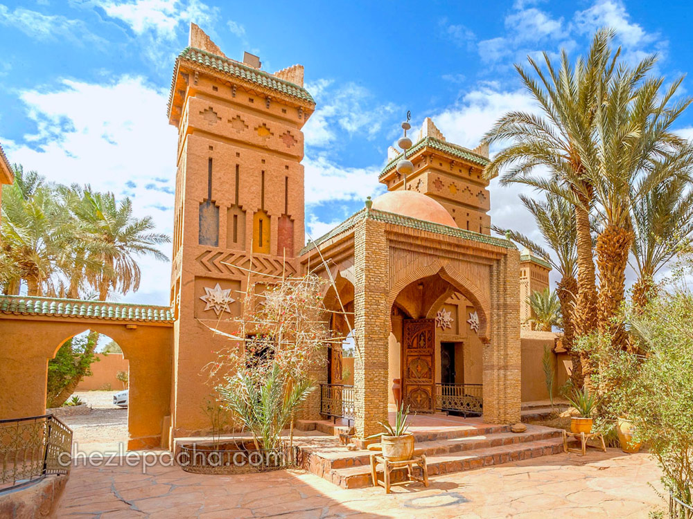 Hotel Chez le Pacha M'Hamid Maroc - Sahara Tour Maroc 2018 Bumperoffroad
