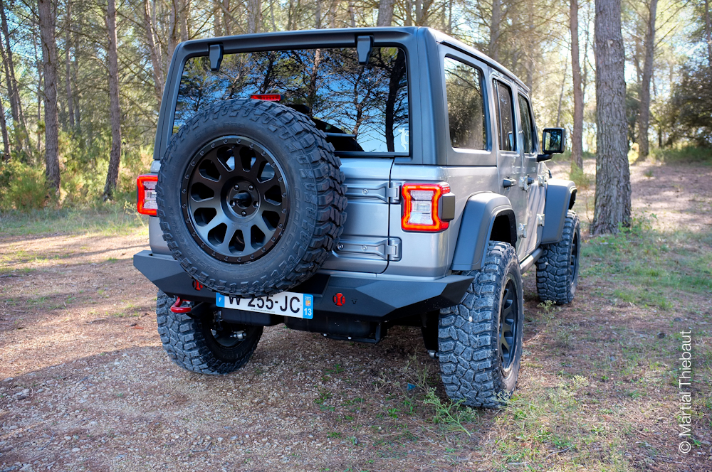 Preparation Bumperoffroad Jeep Wrangler JL 2018/2019 - Teraflex-Europe