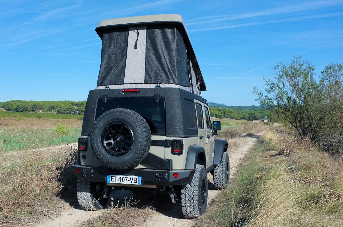 Jeep Wrangler JK JKamper - Tente de toit - Bumperopffroad - @Martial Thiebaut