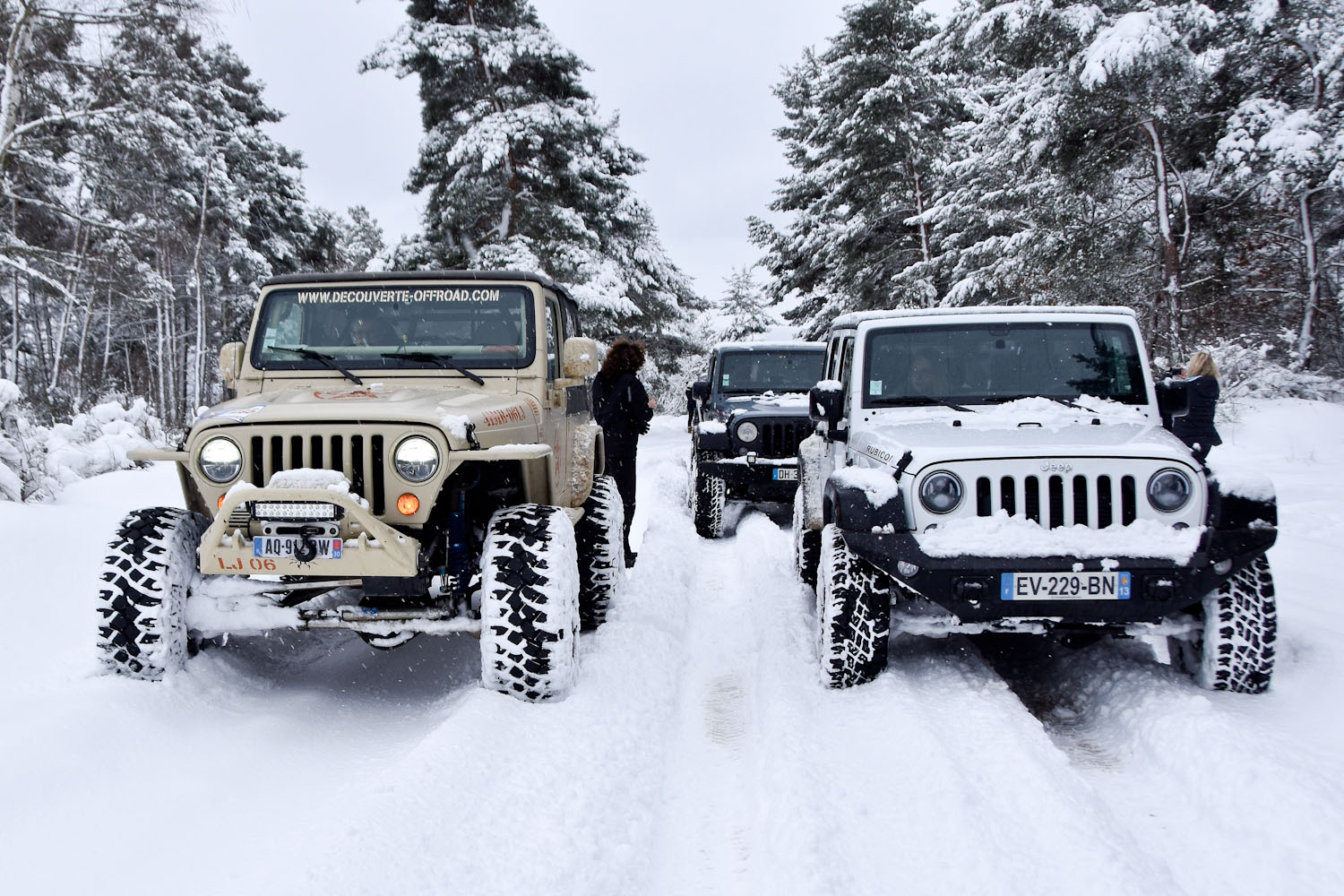 Jeep Winter Tour 2019 - Randonnée 4X4 Provence Jeep - Bumperoffroad