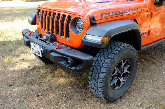 Mopar Pare-chocs avant modulaire pour Jeep Wrangler JL 2 et 4 portes