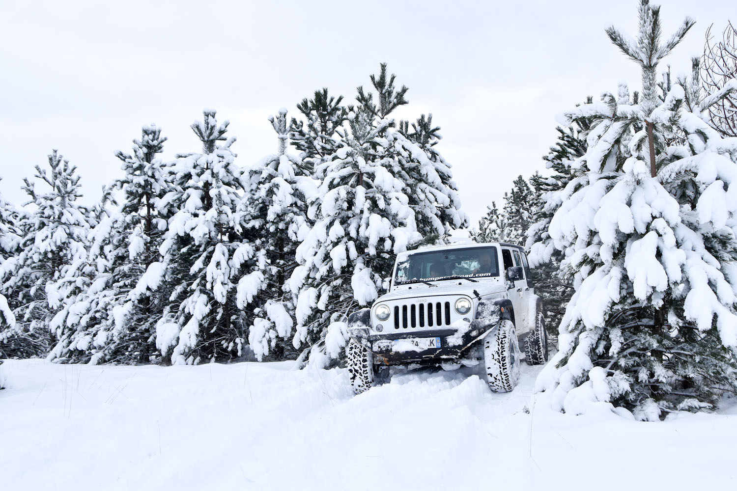 Jeep Winter Tour 2019 - Randonnée 4X4 Jeep - Bumperoffroad