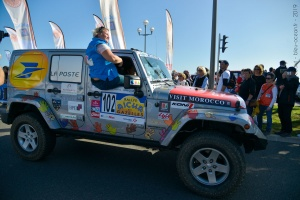 Rallye des Gazelles 2019, équipage 102