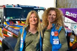 Rallye des Gazelles 2019, équipage 190