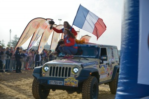 Arrivée du Rallye Aïcha des Gazelles 2019 à Essaouira