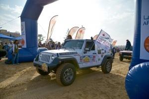 Arrivée du Rallye Aïcha des Gazelles 2019