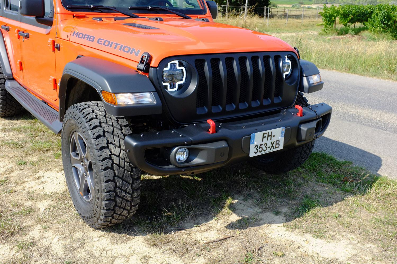 Jeep JLU 2019 préparation Bumperoffroad