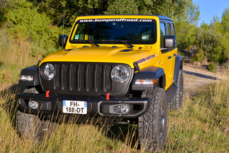 Jeep Wrangler JLU Yellow by Bumperoffroad