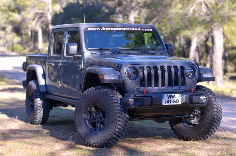Vente Jeep Gladiator en France importation des USA - Personalisation