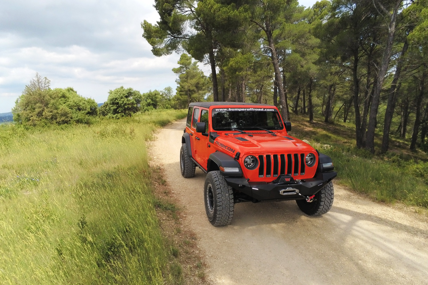 Preparaion Jeep Wrangler JL Rubicon 2020 by BumperOffroad - France