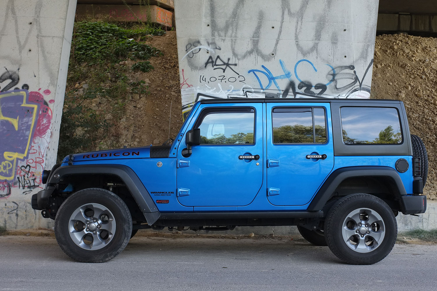 Jeep Wrangler JK Unlimited Rubicon Nautic 2.8L CRD - BumperOffroad