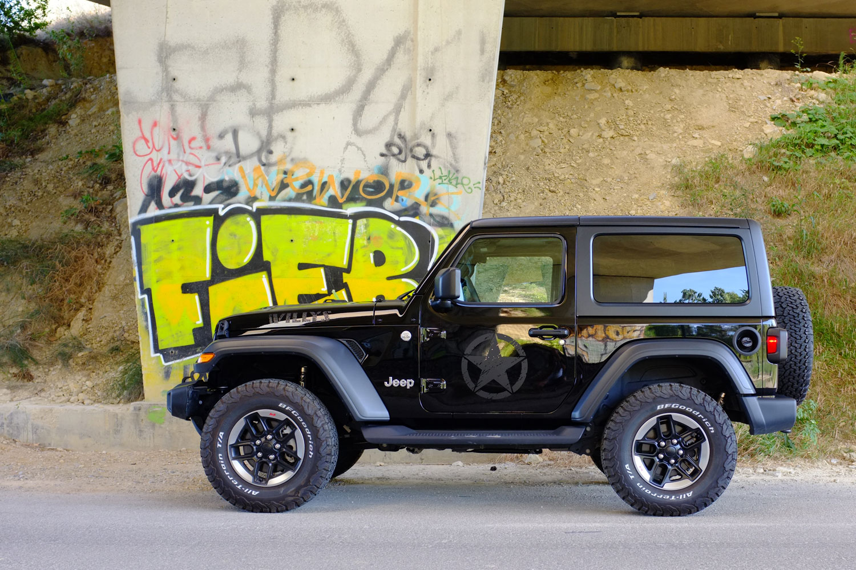Jeep Wrangler JL Willys 3,6L Black E85 Ethanol