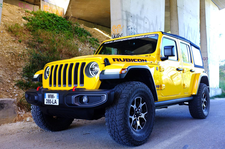 Jeep Wrangler JL Unlimited Rubicon 3,6 L E85 Ethanol - Bumperoffroad - Vente Jeep JL