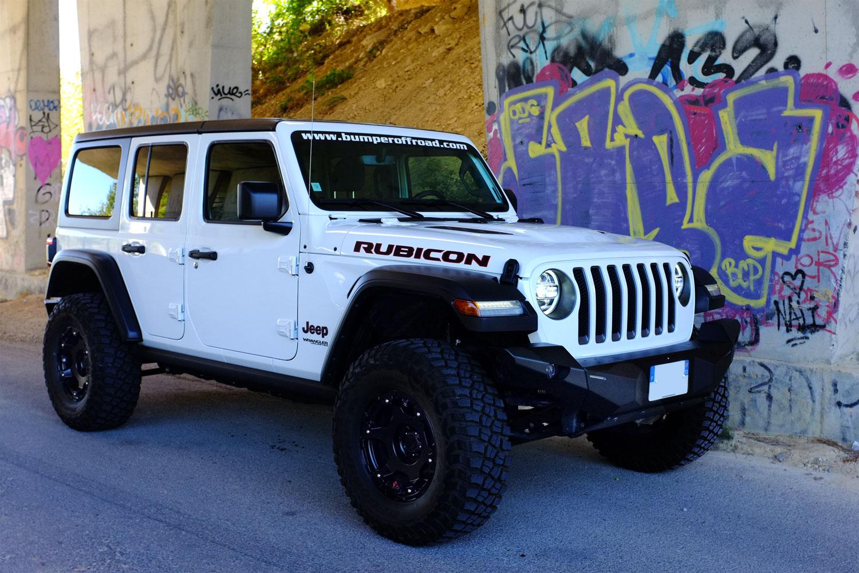 Jeep Wrangler JL Unlimited Rubicon 3,6L E85 White - Pentastar V6 3,6l 24s VVT - 285 Cv