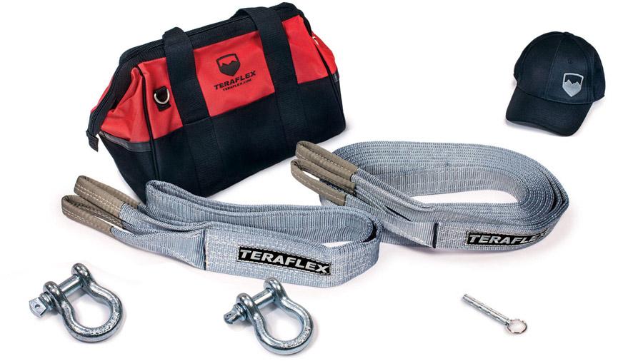 Le sac TeraFlex comprend tous les outils essentiels pour la traction 4x4. Un must have dans le coffre de votre Jeep !