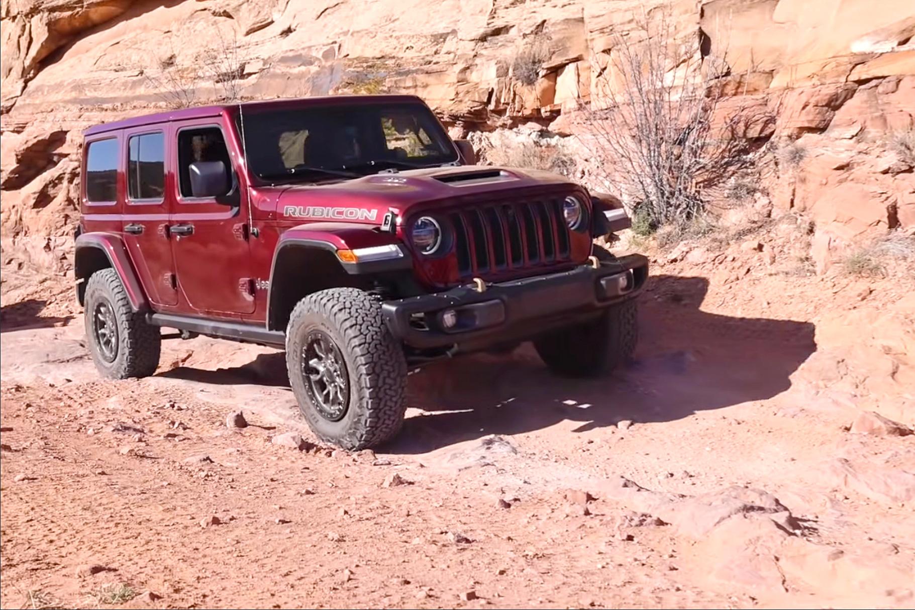 La nouvelle Jeep Wrangler Rubicon 392 avec le moteur Hem